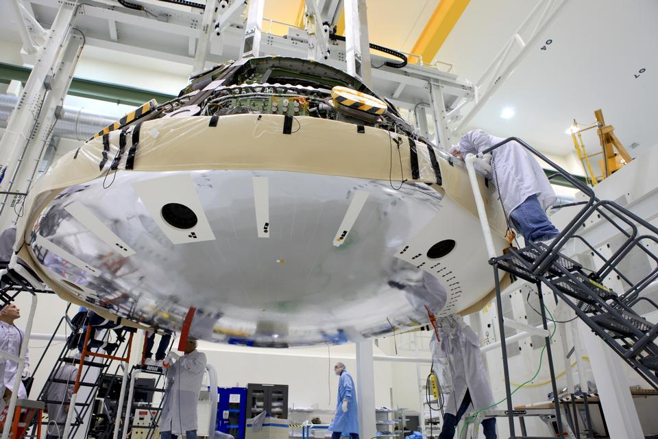 Free The world's largest heat shield Orion Heat Shield