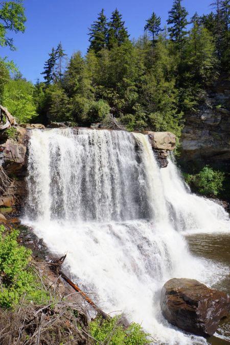 Free Blackwater Falls, West Virginia