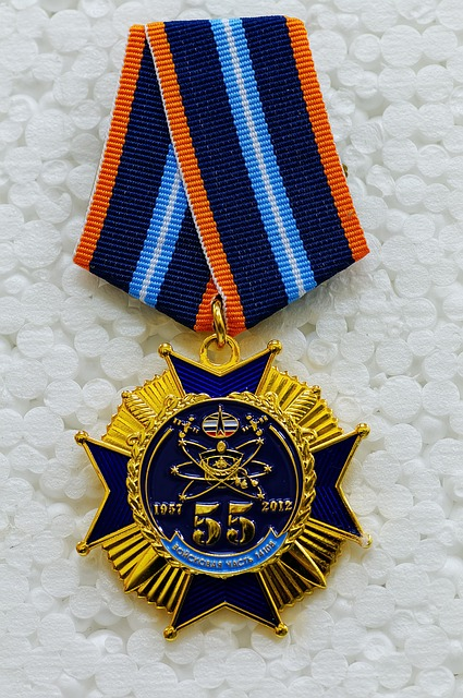 Free medal commemorative medal jubilee medal space forces