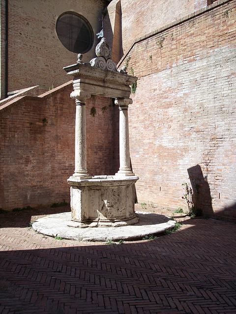 Free pozzo architecture renaissance siena tuscany