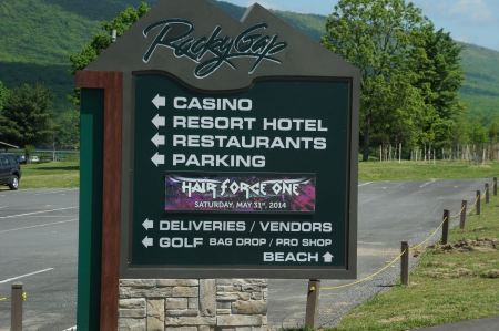 Free Sign Rocky Gap Casino Resort