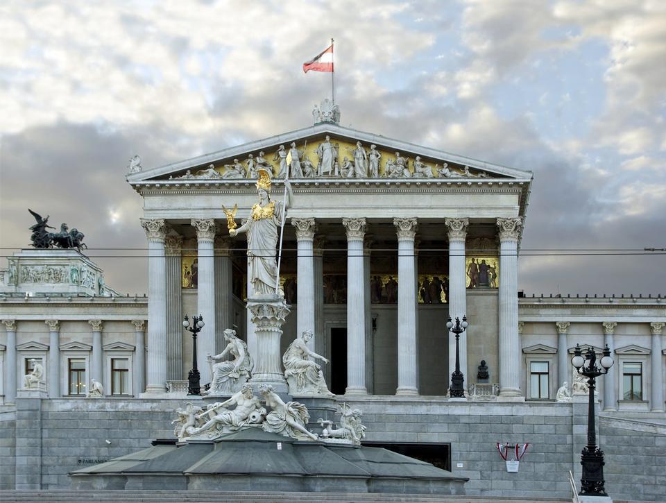 Free Vienna - Austrian Parliament Building
