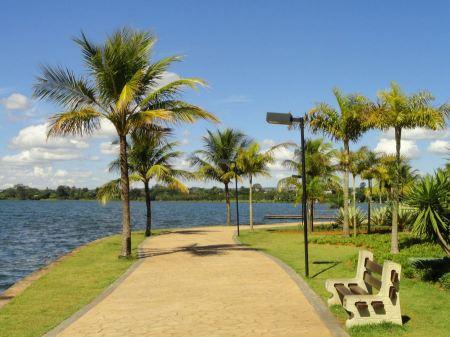 Free Paranoa Lake in Brasilia, Brazil