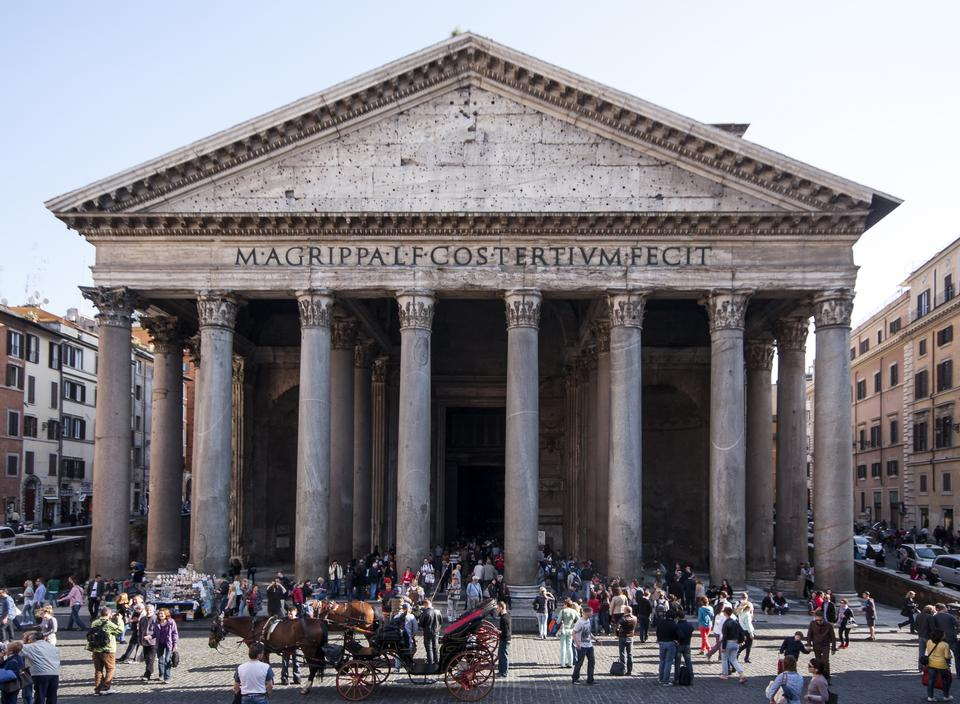 Free The Pantheon, Rome, Italy