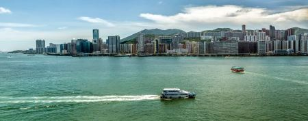Free Skyline of Hong Kong