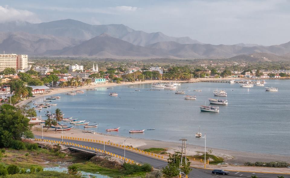 Free Harbor of Juan Griego on Isla de Margarita in Venezuela