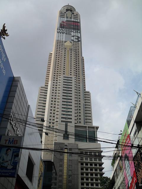 Free bangkok thailand asia skyscraper building