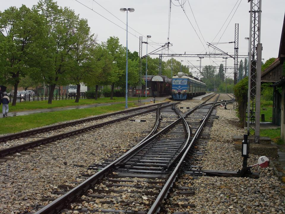 Free Train station of commuter trains from Belgrade