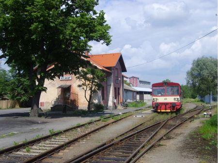 Free Train station in Velvary Czech Republic