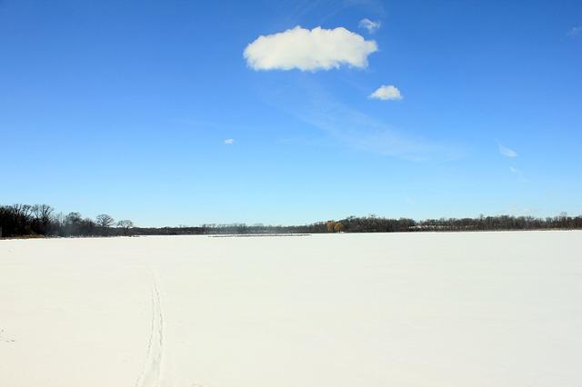 Free lake maria landscape winter sky
