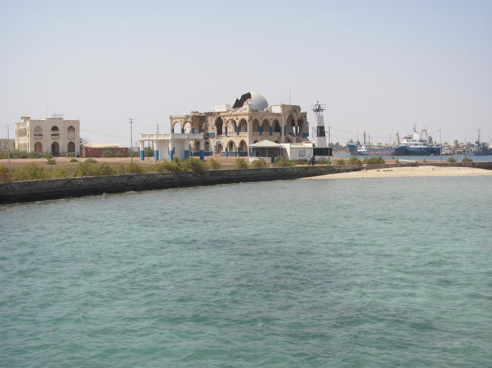 Free The old city of Massawa in Eritrea