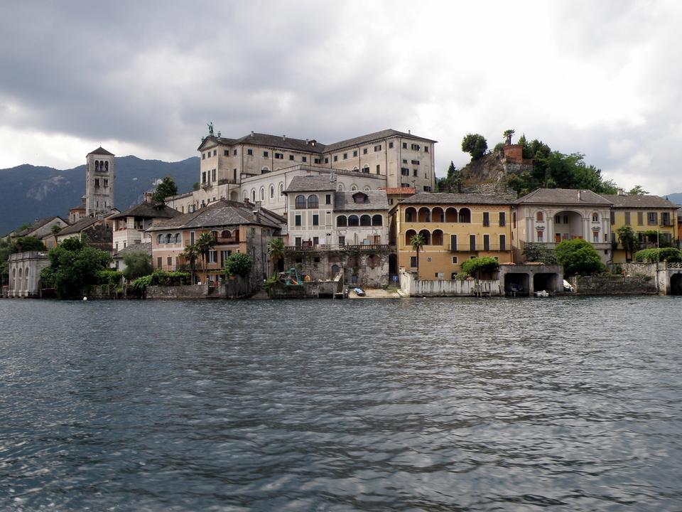 Free Isle of Orta San Giulio, Orta lake, Italy