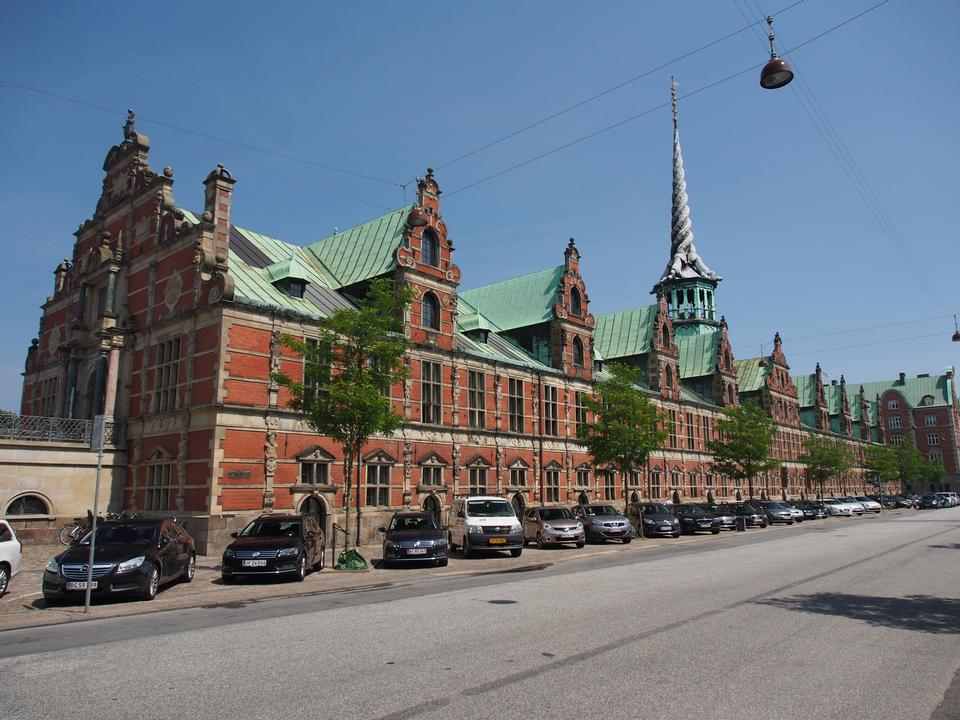Free Former stock exchange building - Copenhagen, Denmark