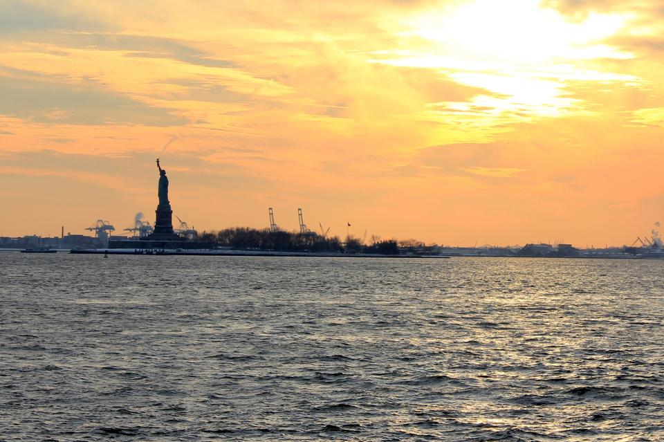 Free Statue of Liberty at New York USA
