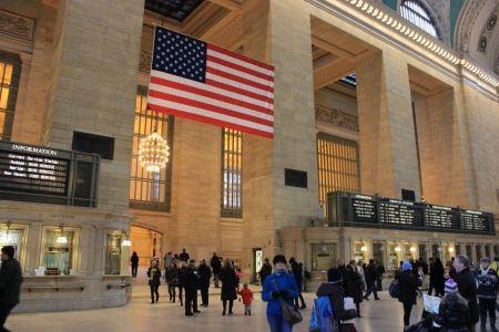 Free Main lobby at Grand Central Terminal circa New York