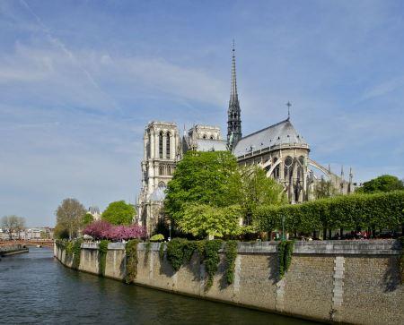 Free Notre Dame de Paris, Paris, France