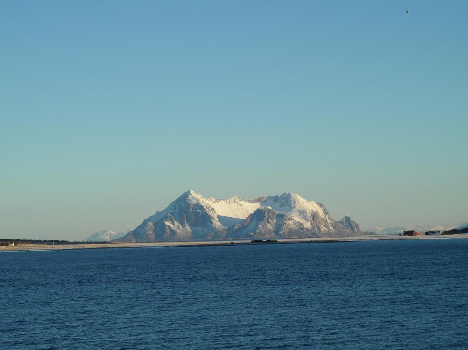 Free Norwegian summer seascape
