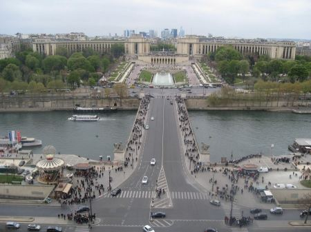 Free Aerial view of Paris, Trocadero