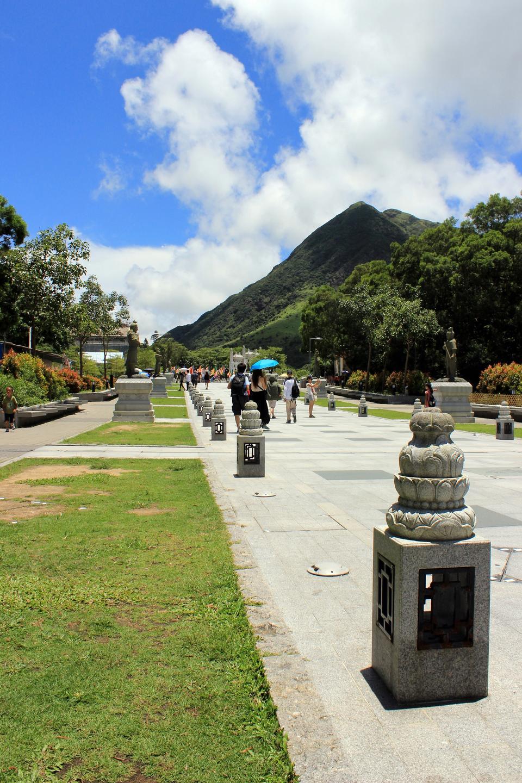 Free Ngong Ping Plateau, on Lantau Island, Hong Kong