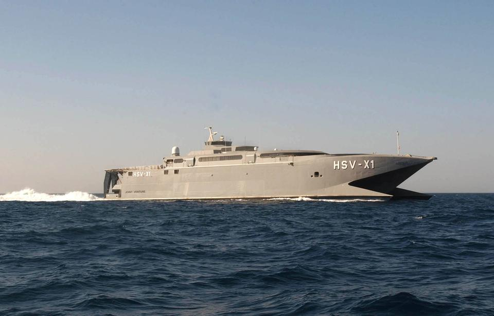 Free High Speed Vessel Experimental One HSV X1 transports