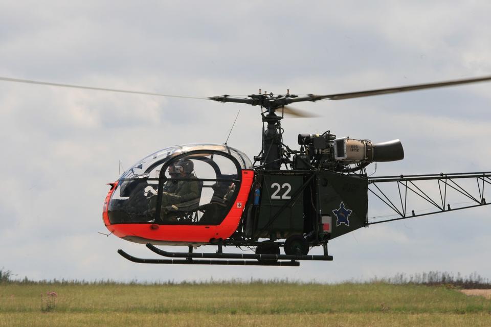 Free Helicopter Aerospatiale Alouette II