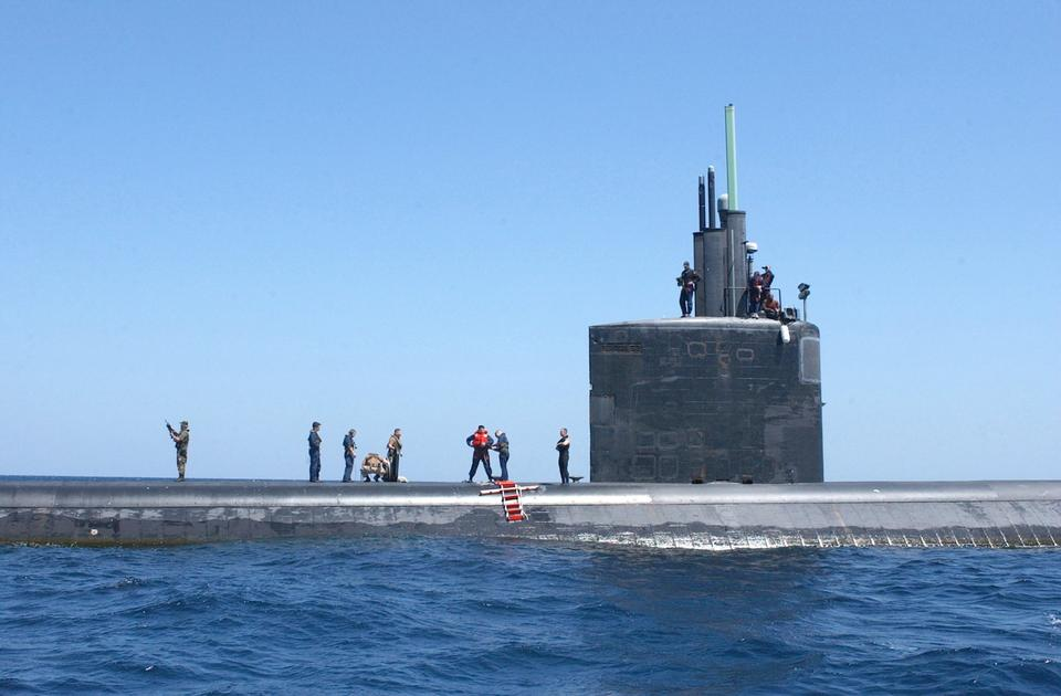 Free Personnel from the attack submarine USS Toledo
