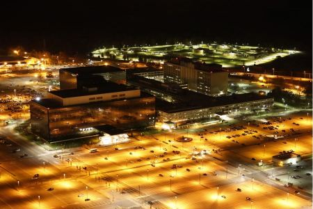 Free Aerial View National Security Agency - NSA Building