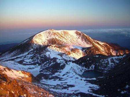 Free Sunset on Mount Haku
