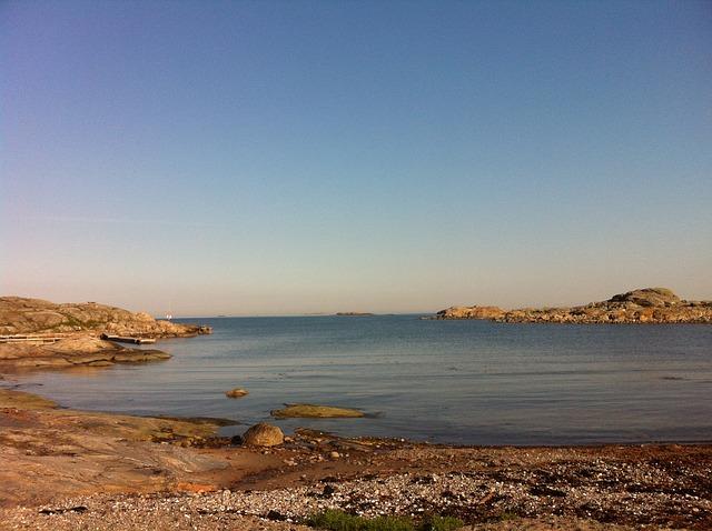 Free hummerviken öckerö ocean sea sky blue water
