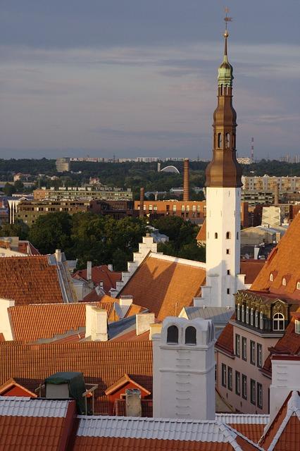 Free estonia tallinn old town