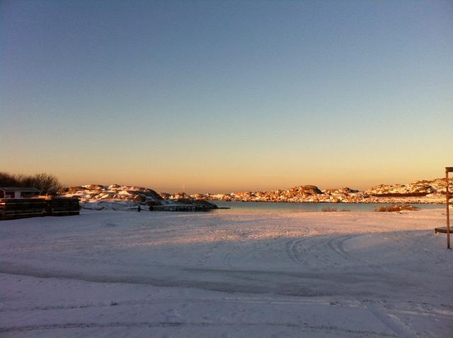 Free winter winter magic ice frost sea islands öckerö