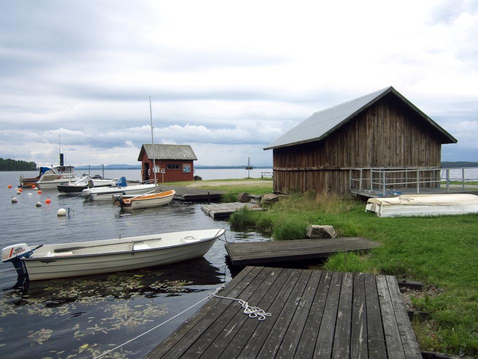 Free Dellen Lake in Sweden