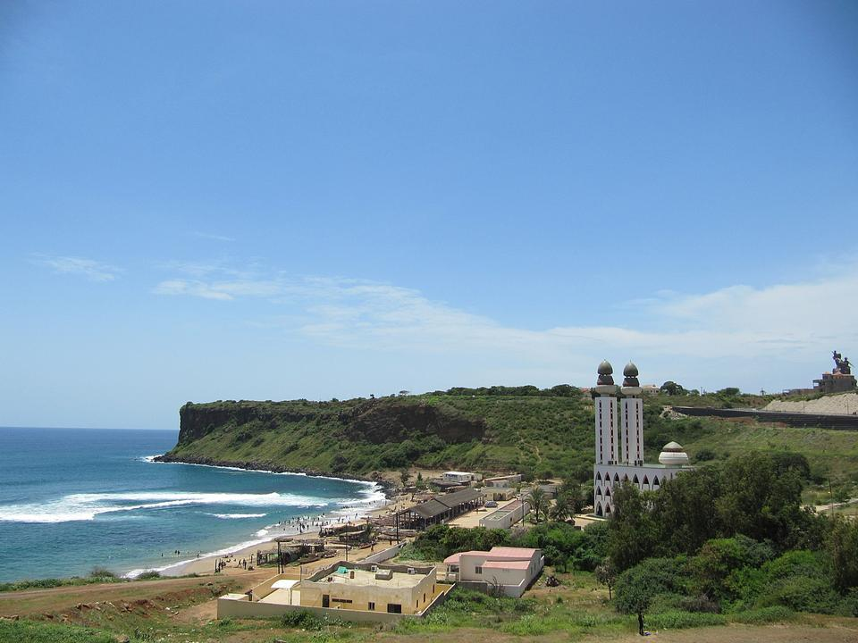 Free Beach Ouakam in Senegal