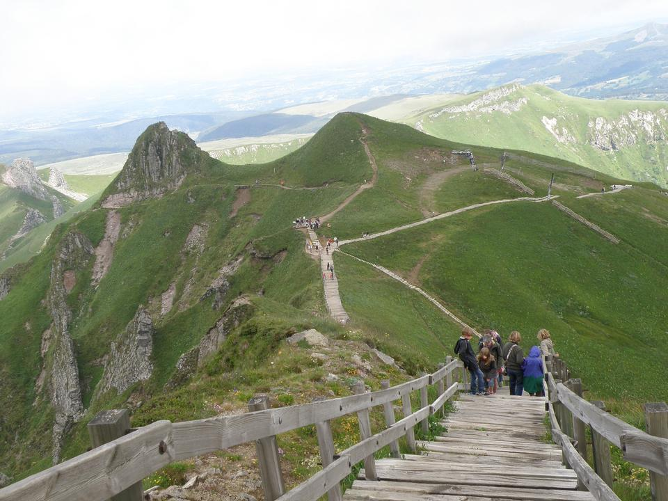 Free Auvergne Volcano national park, UNESCO heritage, France