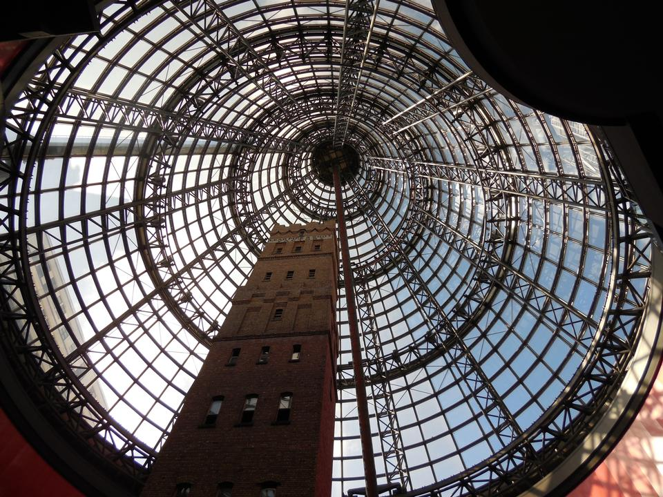 Free Central Shopping Centre Tower and Cone Interior