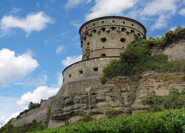 Free würzburg germany castle fortress landmark