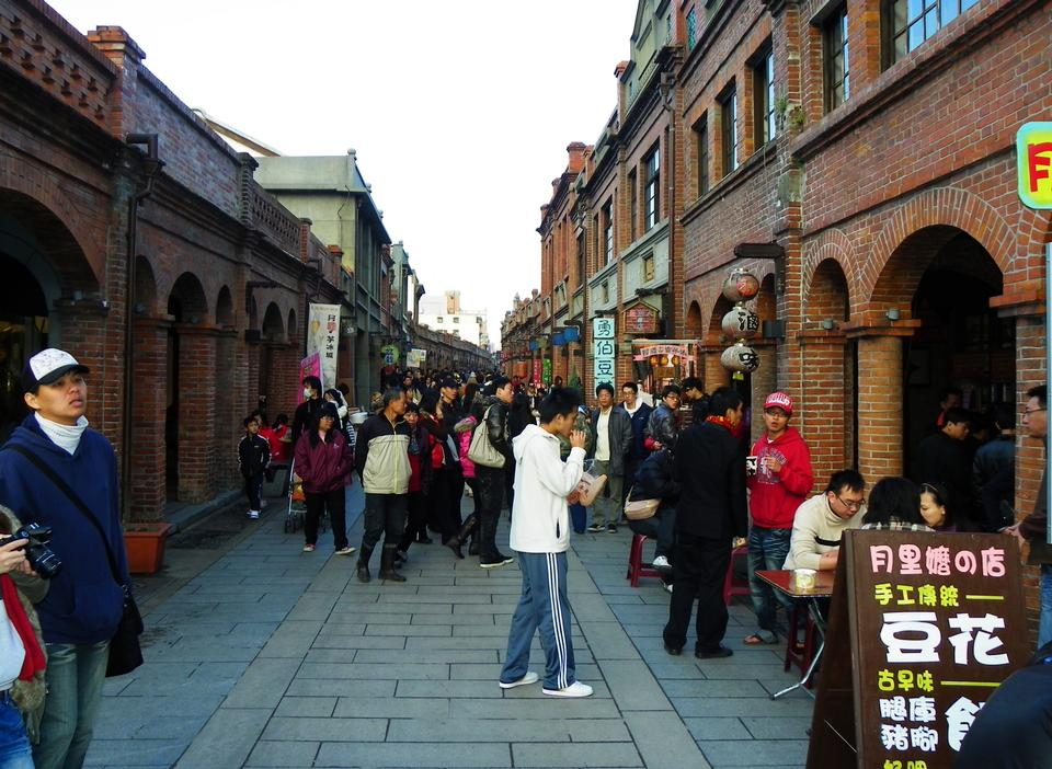 Free Old street in China