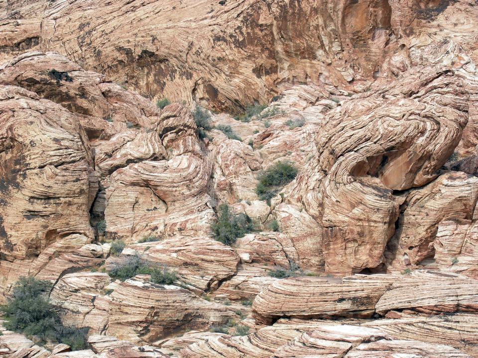 Free sandstone landscape in Red Rock Canyon National Conservation Area
