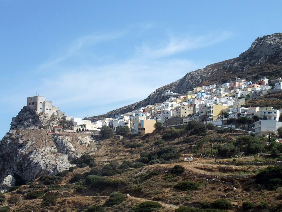 Free Picturesque mountain village
