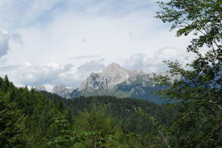 Free Top of the Mauria Pass, Dolomiti, Italy