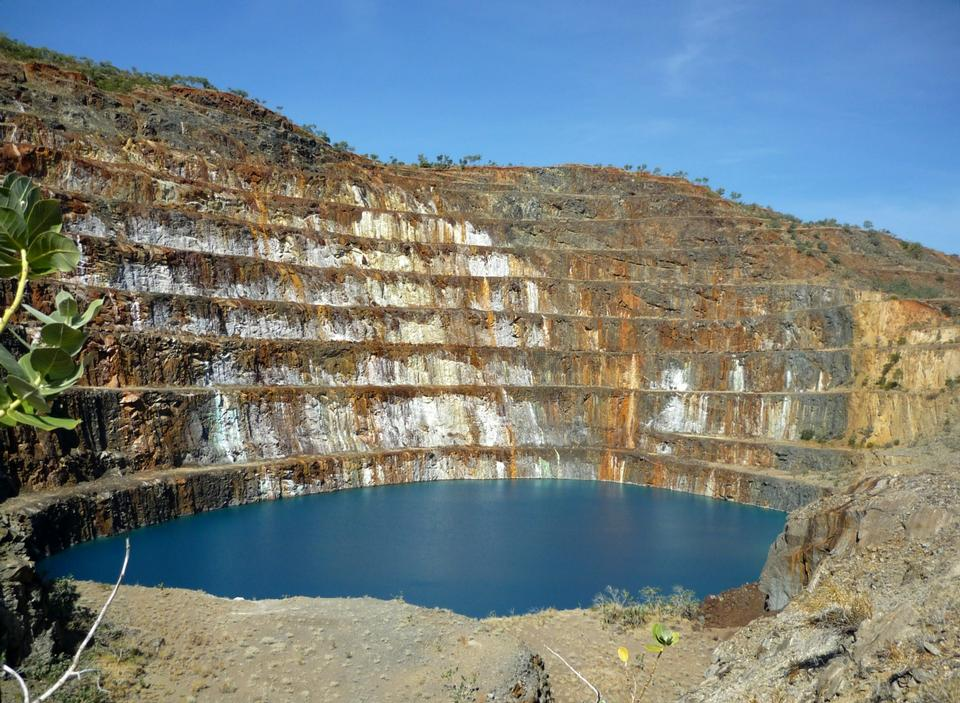 Free Old derelict uranium quarry