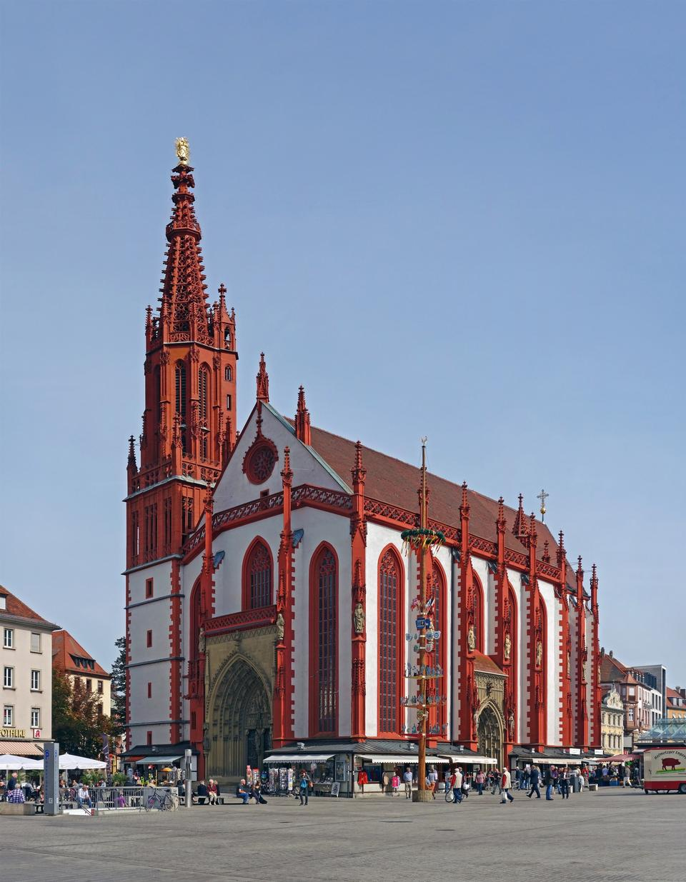 Free cathedral in wurzburg