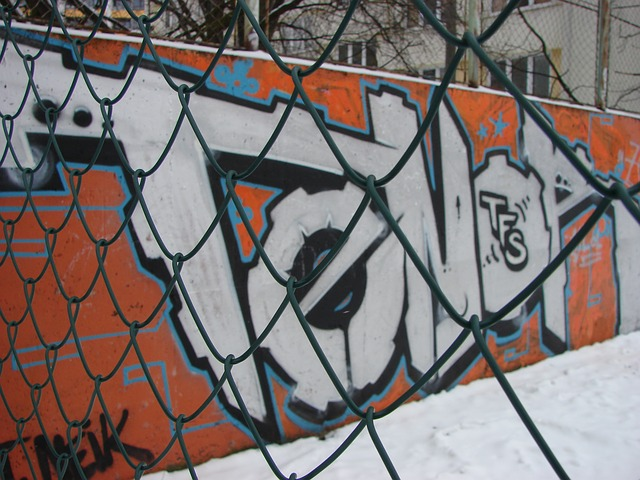 Free graphite winter fence snow wire macro metal