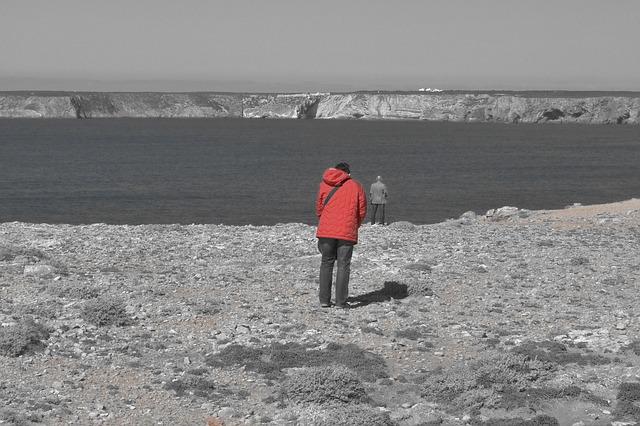 Free Photos: Sea edge of the sea algarve human portugal | Peter Kraayvanger