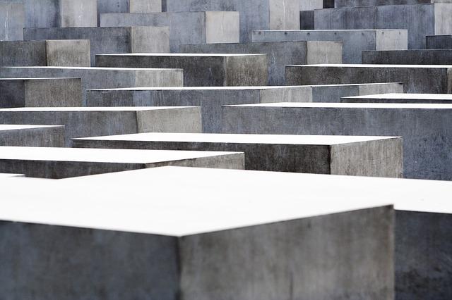 Free monument berlin concrete holocaust memorial