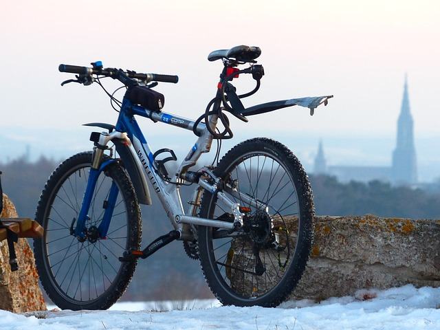 Free mountain bike bike wheel outdoor saddle mature