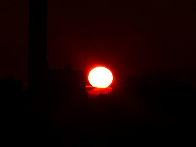 Free sun fireball sunset solar disk schapfe mill