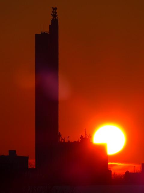 Free sun fireball sunset afterglow abendstimmung