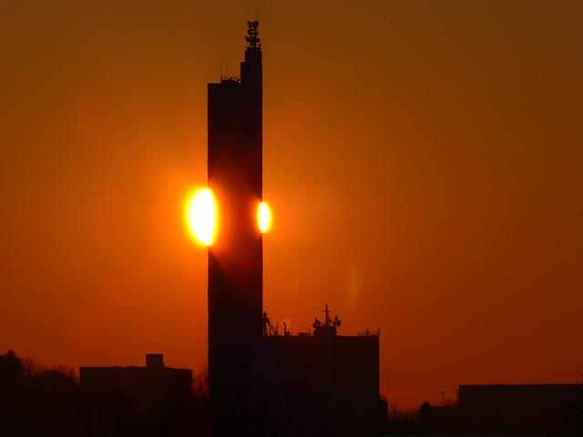 Free sun fireball fiery sunset golden glow afterglow