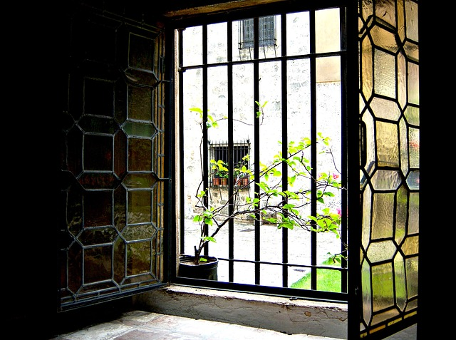 Free window stained glass stained-glass window